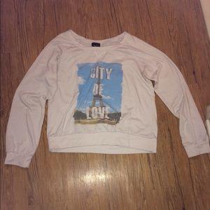 City of love, long sleeve shirt.